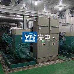 柴油发电机组国家电网工程2台1200KW并网运行