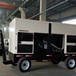 为客户量身定制的一款移动拖车型柴油发电机组