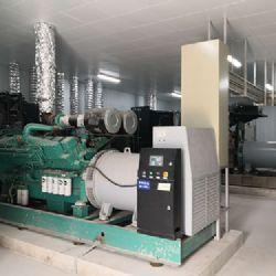 江苏双虎公司采购500KW康明斯发电机组一台-开架式室内柴油发电机组