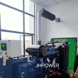 400KW玉柴柴油发电机组发往浙江房地产用户现场调试安装发电机组