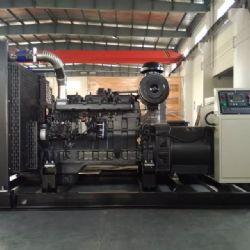 300KW上柴发电机组在广西荔浦房地产开发建设的小区安装交付