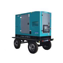 云南昆明高尔夫球场采购我司120KW玉柴柴油发电机组 移动静音型柴油发电机